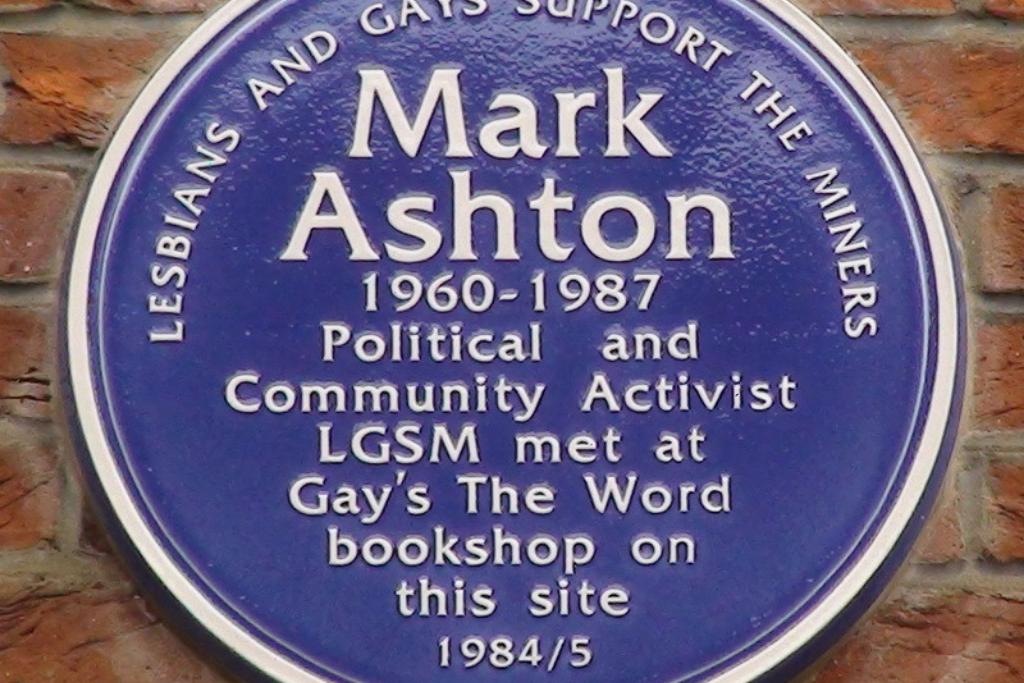 LGBT Lawyers Mark Ashton Plaque (1)