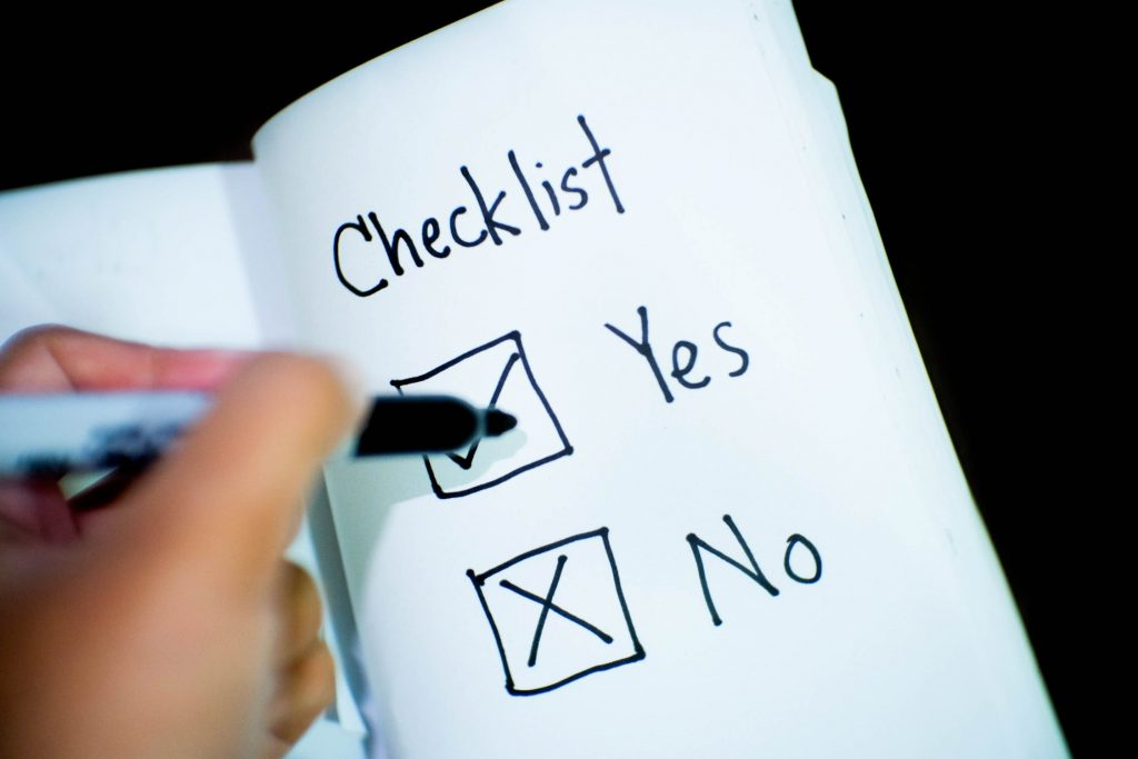applying for grant of probate checklist
