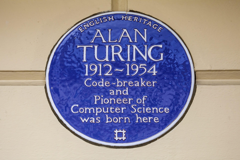 Alan Turing Blue Plaque