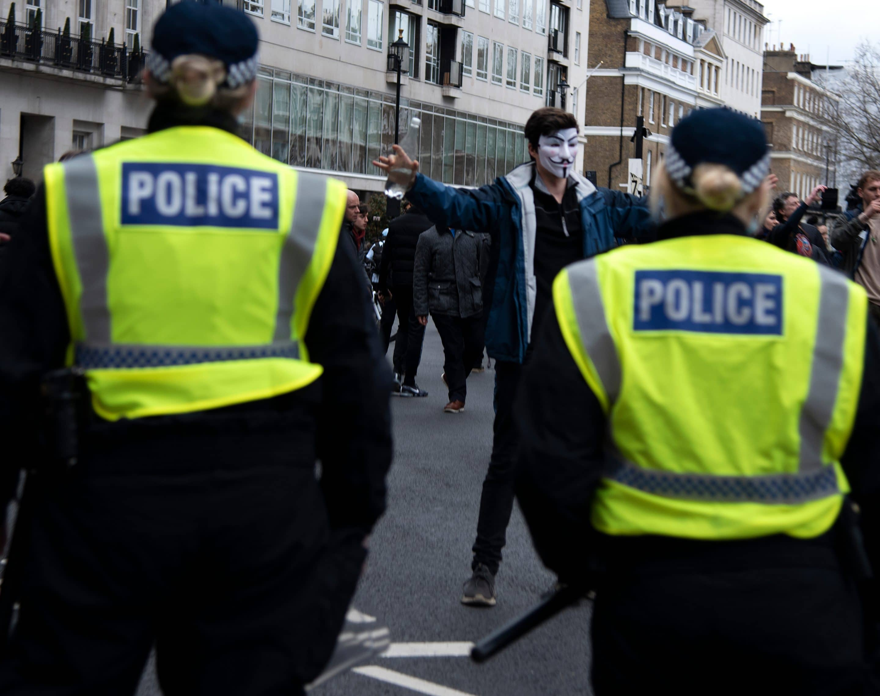 Police Looking at A Public Order Offence