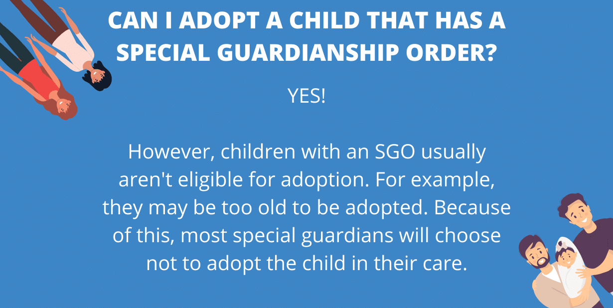Can I adopt a child that has a special guardianship order (2)