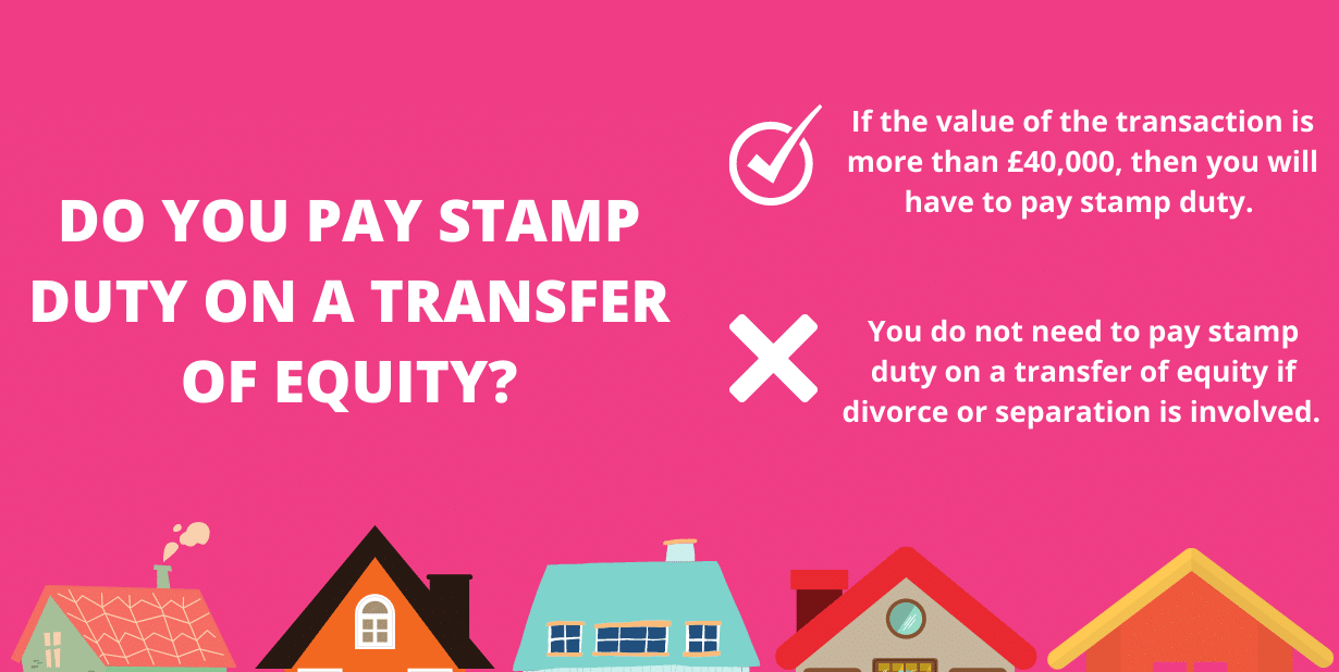 Do you pay stamp duty on a transfer of equity