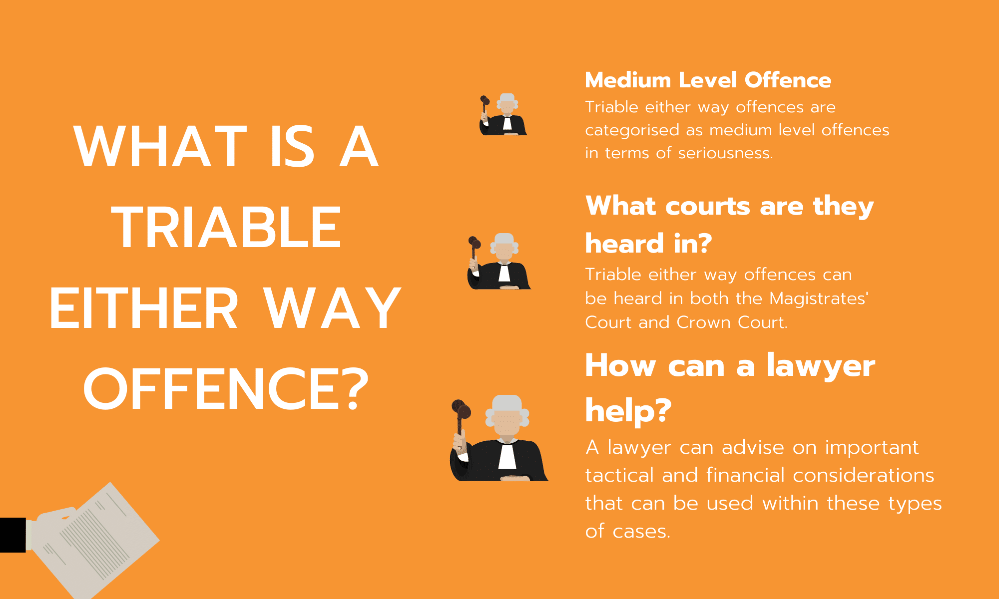 LGBT Lawyers - Either-way offences blog