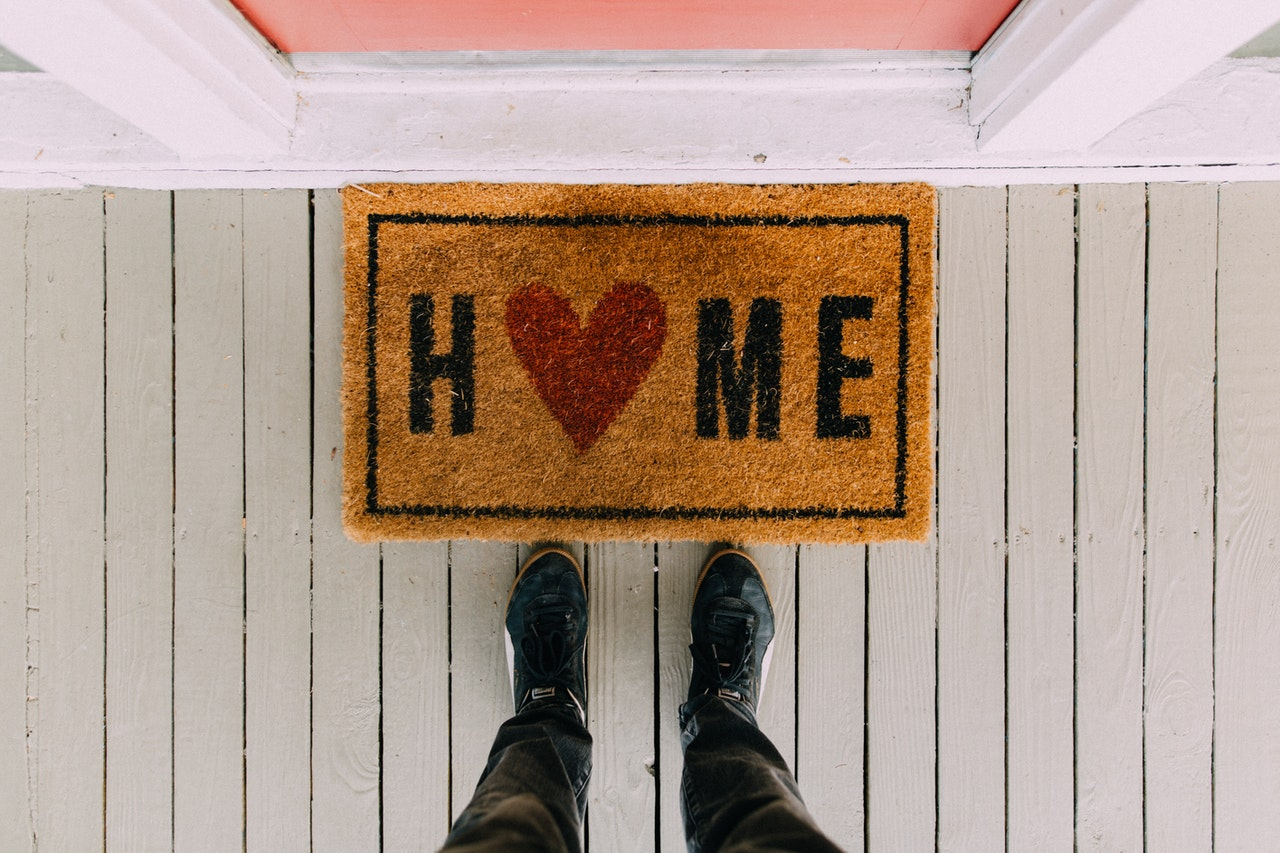 Home house mat when you evict a tenant