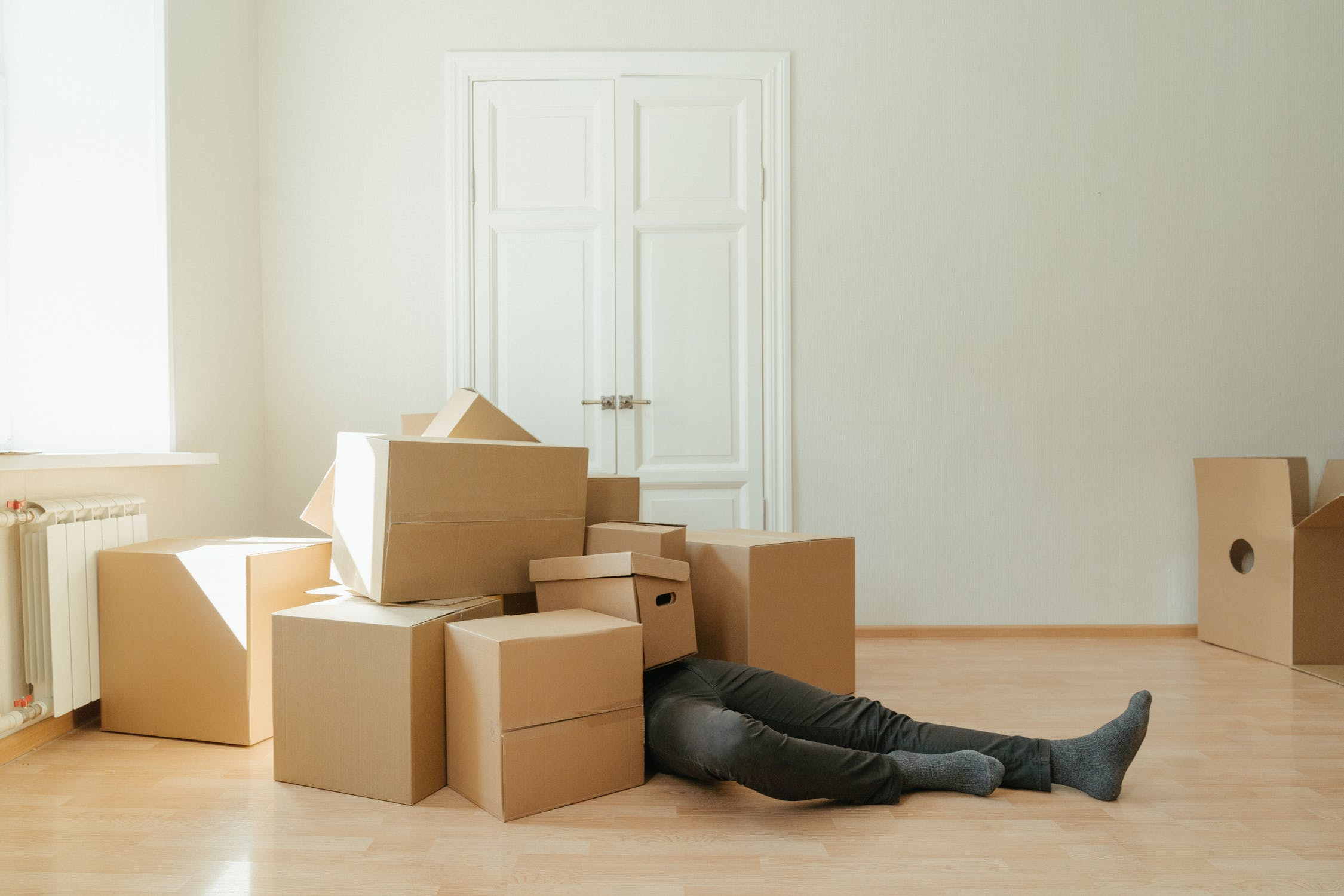 boxes when you evict a tenant